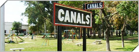 Canals Fortines, Lagos y Lagunas